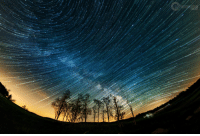 """Tumblr, Blog, and Space: <p><a href=""""https://photos-of-space.tumblr.com/post/158967848904/composite-i-created-of-milky-way-trails-forming"""" class=""""tumblr_blog"""">photos-of-space</a>:</p>  <blockquote><p>Composite I created of Milky Way trails forming over Shenandoah National Park with a fisheye lens [OC][2048x1367]</p></blockquote>"""