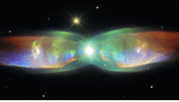 """Bailey Jay, Tumblr, and Blog: <p><a href=""""https://photos-of-space.tumblr.com/post/171042784361/shimmering-cosmic-butterfly-called-twin-jet-nebula"""" class=""""tumblr_blog"""">photos-of-space</a>:</p>  <blockquote><p>Shimmering Cosmic Butterfly called Twin Jet Nebula that formed about 1,200 years ago, captured by Hubble Telescope in 2015 [1280 × 720]</p></blockquote>"""