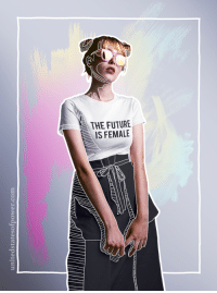 "<p><a href=""https://unitedstatesofpower.tumblr.com/post/165513153367/the-future-is-female-shirt-by-united-states-of"" class=""tumblr_blog"">unitedstatesofpower</a>:</p><blockquote> <p><b><a href=""https://unitedstatesofpower.com/products/the-future-is-female-t-shirt-1"">The Future is Female.</a></b></p> <p>shirt by United States of Power</p> <p>10% of profits donated to charity</p> </blockquote>: <p><a href=""https://unitedstatesofpower.tumblr.com/post/165513153367/the-future-is-female-shirt-by-united-states-of"" class=""tumblr_blog"">unitedstatesofpower</a>:</p><blockquote> <p><b><a href=""https://unitedstatesofpower.com/products/the-future-is-female-t-shirt-1"">The Future is Female.</a></b></p> <p>shirt by United States of Power</p> <p>10% of profits donated to charity</p> </blockquote>"