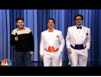 """<p><a href=""""https://www.youtube.com/watch?v=5JNQCBnnVd8&amp;list=UU8-Th83bH_thdKZDJCrn88g&amp;index=4"""" target=""""_blank"""">Jimmy introduces Two Really Fun Men who sing a song to help an audience member have more fun</a>!</p>: <p><a href=""""https://www.youtube.com/watch?v=5JNQCBnnVd8&amp;list=UU8-Th83bH_thdKZDJCrn88g&amp;index=4"""" target=""""_blank"""">Jimmy introduces Two Really Fun Men who sing a song to help an audience member have more fun</a>!</p>"""