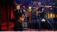 "Alive, Target, and Bentley: <p><strong>Dierks Bentley with Mike McCready and the Roots: Alive</strong></p> <p>In honor of Pearl Jam week, here&rsquo;s Dierks Bentley <a href=""http://www.latenightwithjimmyfallon.com/blogs/2013/10/dierks-bentley-with-mike-mccready-alive/"" target=""_blank"">performing the Pearl Jam song &ldquo;Alive&rdquo; with guitarist Mike McCready and the Roots</a>. </p>"