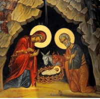 <p>&ldquo;Thy nativity, O Christ our God,<br/> has shown to the world the light of wisdom;<br/> for by it, those who worshipped the stars<br/> were taught by a star to adore Thee<br/> the Sun of Righteousness,<br/> and to know Thee, the Orient from on high.<br/> O Lord, glory to Thee.&rdquo;</p>  <p>Christ is born, glorify him!</p>: <p>&ldquo;Thy nativity, O Christ our God,<br/> has shown to the world the light of wisdom;<br/> for by it, those who worshipped the stars<br/> were taught by a star to adore Thee<br/> the Sun of Righteousness,<br/> and to know Thee, the Orient from on high.<br/> O Lord, glory to Thee.&rdquo;</p>  <p>Christ is born, glorify him!</p>