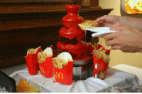 Awesome, Ketchup, and Fountain: <p>Awesome Ketchup Fountain.</p>