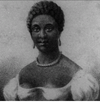 "Africa, America, and Blessed: <p>Black artist history day 25: American poet Phillis Wheatley.</p>  <p>Phillis Wheatley was born in The mid-1700s in West Africa and kidnapped to be sold into slavery when she was about seven or eight. She was bought by the Wheatley family of Boston and, unlike many slaves, was actually taught by her masters to read and write, even providing her scholarship in Greek and Latin classics. She received unprecedented classical education for a girl of any race and certainly for an enslaved person. The Wheatley's encouraged her to pursue poetry when they saw her talent, and she wrote her first poem at age 14.</p>  <p>Her poetry often had religious themes and wrote on a few political topics, including writing King George III a letter praising him for repealing the stamp act. He was a fan of hers, along with George Washington, who invited her to meet with him at his Massachusetts headquarters. Her work was also noticed and re-published by Thomas Paine.</p>  <p>Her work became popular in both England and the colonies. She became the first published African-American female poet and was eventually emancipated by the Wheatley family and married to a free black grocer. She had a complicated relationship with slavery, believing it to be overall cruel and in need of abolishment, but at the same time seeing it as a hidden blessing for her personally since she was blessed with kind masters and found Christianity through it. Her relationship with race and Faith is expressed in her poem ""On being brought from Africa to America""</p>  <p>""Twas mercy brought me from my Pagan land,<br/> Taught my benighted soul to understand<br/> That there&rsquo;s a God, that there&rsquo;s a Saviour too:<br/> Once I redemption neither sought nor knew.<br/> Some view our sable race with scornful eye,<br/> &ldquo;Their colour is a diabolic dye.&rdquo;<br/> Remember, Christians, Negroes, black as Cain,<br/> May be refin&rsquo;d, and join th&rsquo; angelic train.""</p>"