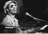 "<p>Black artist history day 27: Multi-instrumental musician Stevie Wonder.</p>  <p>Stevie Wonder was born Stevland Hardaway Judkins in 1950 to songwriter Lula Mae Hardaway. Complications from a premature birth and environmental issues caused him to become blind shortly after birth.</p>  <p>Wonder was a musical prodigy. He was proficient in several instruments and sang in his church choir. With a friend he began singing and performing on street corners and parties. He was signed onto a Motown record label at age 11 and became the youngest person to top the Billboard top 100 at age 13. His mother cowrote some of his big hits, such as ""Signed, Sealed, Delivered"" and accompanied him when he won his first Grammy at age 23.</p>  <p>He is considered to have one of the longest and most prolific careers in music history, collaborating with everyone from Busta Rhymes, to Andrea Bocelli, to the Rolling Stones.</p>: <p>Black artist history day 27: Multi-instrumental musician Stevie Wonder.</p>  <p>Stevie Wonder was born Stevland Hardaway Judkins in 1950 to songwriter Lula Mae Hardaway. Complications from a premature birth and environmental issues caused him to become blind shortly after birth.</p>  <p>Wonder was a musical prodigy. He was proficient in several instruments and sang in his church choir. With a friend he began singing and performing on street corners and parties. He was signed onto a Motown record label at age 11 and became the youngest person to top the Billboard top 100 at age 13. His mother cowrote some of his big hits, such as ""Signed, Sealed, Delivered"" and accompanied him when he won his first Grammy at age 23.</p>  <p>He is considered to have one of the longest and most prolific careers in music history, collaborating with everyone from Busta Rhymes, to Andrea Bocelli, to the Rolling Stones.</p>"
