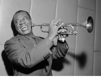 "<p>Black history month artist edition day 3: American jazz musician Louis Armstrong.</p>  <p>Armstrong was born in New Orleans in 1901 to a 16-year-old girl. His father abandoned the family soon after his birth. He was raised by his maternal grandmother until the age of five, then went back to live with his mother and attended a school for boys were he learned literacy and was first exposed to music. During his school years, Louis would bring in money delivering coal and other odd jobs working for the Karnoffskys, a family of Lithuanian Jews. The Karnoffskys took Louis under their wing, nurturing him in the absence of his father. In turn, Louis grew to deeply love and respect the family, feeling a special connection with them because they were also mistreated by the ""other white folks"" for being Jewish. In a tribute to them, he wore a Star of David pendant for the rest of his life. </p>  <p>He came to musical prominence in the 1920s, known for his impressive trumpet stylings and unique, gravelly vocals. He is considered one of the few black artists to successfully cross into the mainstream of American musical culture during that time. He went from playing riverboat bands to being a bandleader and collaborating with many other artists, perhaps most notably with Ella Fitzgerald. Louis always credited his New Orleans upbringing for his musical influences.</p>  <p>&ldquo;Every time I close my eyes blowing that trumpet of mine—I look right in the heart of good old New Orleans&hellip; It has given me something to live for.&rdquo;</p>: <p>Black history month artist edition day 3: American jazz musician Louis Armstrong.</p>  <p>Armstrong was born in New Orleans in 1901 to a 16-year-old girl. His father abandoned the family soon after his birth. He was raised by his maternal grandmother until the age of five, then went back to live with his mother and attended a school for boys were he learned literacy and was first exposed to music. During his school years, Louis would bring in money delivering coal and other odd jobs working for the Karnoffskys, a family of Lithuanian Jews. The Karnoffskys took Louis under their wing, nurturing him in the absence of his father. In turn, Louis grew to deeply love and respect the family, feeling a special connection with them because they were also mistreated by the ""other white folks"" for being Jewish. In a tribute to them, he wore a Star of David pendant for the rest of his life. </p>  <p>He came to musical prominence in the 1920s, known for his impressive trumpet stylings and unique, gravelly vocals. He is considered one of the few black artists to successfully cross into the mainstream of American musical culture during that time. He went from playing riverboat bands to being a bandleader and collaborating with many other artists, perhaps most notably with Ella Fitzgerald. Louis always credited his New Orleans upbringing for his musical influences.</p>  <p>&ldquo;Every time I close my eyes blowing that trumpet of mine—I look right in the heart of good old New Orleans&hellip; It has given me something to live for.&rdquo;</p>"