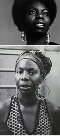 "<p>Black history month artistic figures day five: Singer, pianist, and activist Nina Simone.</p>  <p>Nina Simone was born Eunice Kathleen Waymon in Tryon, North Carolina in 1933. She started playing piano when she was three years old and dreamed to one day become an a concert pianist. Her first official recital performance was it a classical recital when she was 12. Her parents, who had taken front row seats for the recital, were forced to move to the back due to segregation at the venue. When Simone found out about it, she refused to play until her parents were allowed to move back to the front. This event sparked her later activism.</p>  <p>With the help of scholarship money, Simone was able to attend Allen High School for Girls in Asheville, North Carolina. After her graduation she spent the summer of 1950 at the Juilliard School, as a student of Carl Friedberg, preparing for her addition at the Curtis Institute of Music in Philadelphia. Despite a fantastic and well received audition, Simone was denied admission to the school. She suspected racial prejudice was to blame.</p>  <p>In order to make ends meet, Simone ended up taking a job as a resident pianist and singer at a bar. This is when she changed her name from Eunice Waymon to Nina Simone, in order to disguise her identity from her minister parents who did not approve of her playing ""the devil's music"" in bars and clubs. Her mixture of genres, including jazz, blues, and classical music in her performances at the bar earned her a small but loyal fan base.</p>  <p>Though she had always drawn on her African-American roots in her music, in the 60s and 70s Simone became very active in civil rights and anti-Vietnam causes. She wrote her now well known song ""Mississippi Goddam"" in response to racist attacks and murders, including the high profile Birmingham church bombing that killed for little black girls and partially blinded a fifth. She considered it her first civil rights anthem.</p>  <p>Later in life Simone moved Barbados and then France, where she lived out her days until passing of breast cancer in 2003. Her ashes were scattered in several African countries and she is survived by one daughter, an actress and singer who uses the stage name Simone.</p>: <p>Black history month artistic figures day five: Singer, pianist, and activist Nina Simone.</p>  <p>Nina Simone was born Eunice Kathleen Waymon in Tryon, North Carolina in 1933. She started playing piano when she was three years old and dreamed to one day become an a concert pianist. Her first official recital performance was it a classical recital when she was 12. Her parents, who had taken front row seats for the recital, were forced to move to the back due to segregation at the venue. When Simone found out about it, she refused to play until her parents were allowed to move back to the front. This event sparked her later activism.</p>  <p>With the help of scholarship money, Simone was able to attend Allen High School for Girls in Asheville, North Carolina. After her graduation she spent the summer of 1950 at the Juilliard School, as a student of Carl Friedberg, preparing for her addition at the Curtis Institute of Music in Philadelphia. Despite a fantastic and well received audition, Simone was denied admission to the school. She suspected racial prejudice was to blame.</p>  <p>In order to make ends meet, Simone ended up taking a job as a resident pianist and singer at a bar. This is when she changed her name from Eunice Waymon to Nina Simone, in order to disguise her identity from her minister parents who did not approve of her playing ""the devil's music"" in bars and clubs. Her mixture of genres, including jazz, blues, and classical music in her performances at the bar earned her a small but loyal fan base.</p>  <p>Though she had always drawn on her African-American roots in her music, in the 60s and 70s Simone became very active in civil rights and anti-Vietnam causes. She wrote her now well known song ""Mississippi Goddam"" in response to racist attacks and murders, including the high profile Birmingham church bombing that killed for little black girls and partially blinded a fifth. She considered it her first civil rights anthem.</p>  <p>Later in life Simone moved Barbados and then France, where she lived out her days until passing of breast cancer in 2003. Her ashes were scattered in several African countries and she is survived by one daughter, an actress and singer who uses the stage name Simone.</p>"