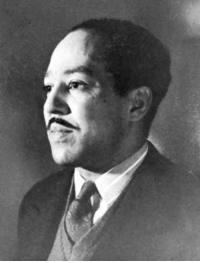 <p>Black history month black artists edition day 2: American poet, playwright, and novelist Langston Hughes.</p>  <p>Langston Hughes was born in 1902 in Joplin, Missouri. As a child he grew up in several midwestern small towns. After his father left the family and divorced his mother, he spent most of his time being raised by his maternal grandmother while his mother searched around for work. Through oral tradition his grandmother instilled a sense of pride for his heritage and an appreciation for storytelling. In his autobiography he wrote: &ldquo;I was unhappy for a long time, and very lonesome, living with my grandmother. Then it was that books began to happen to me, and I began to believe in nothing but books and the wonderful world in books—where if people suffered, they suffered in beautiful language, not in monosyllables, as we did in Kansas.&rdquo;</p>  <p>Langston developed a strong interest in poetry and writing; in grammar school he was elected class poet. He went to school for engineering but soon left due to racial prejudice and his strong attraction to Harlem culture and poetic pursuits. He floated through a few jobs, once even becoming the personal assistant of historian Carter G. Woodson. Eventually his poems called the eye of poet Vachel Lindsay, who helped Hughes publish his first official book of poems. In the mid-1920s, Hughes reenrolled in college, this time at the historically black Lincoln University. There he earned his bachelors degree and attended undergrad classes with future supreme court justice Thurgood Marshall.</p>: <p>Black history month black artists edition day 2: American poet, playwright, and novelist Langston Hughes.</p>  <p>Langston Hughes was born in 1902 in Joplin, Missouri. As a child he grew up in several midwestern small towns. After his father left the family and divorced his mother, he spent most of his time being raised by his maternal grandmother while his mother searched around for work. Through oral tradition his grandmother instilled a sense of pride for his heritage and an appreciation for storytelling. In his autobiography he wrote: &ldquo;I was unhappy for a long time, and very lonesome, living with my grandmother. Then it was that books began to happen to me, and I began to believe in nothing but books and the wonderful world in books—where if people suffered, they suffered in beautiful language, not in monosyllables, as we did in Kansas.&rdquo;</p>  <p>Langston developed a strong interest in poetry and writing; in grammar school he was elected class poet. He went to school for engineering but soon left due to racial prejudice and his strong attraction to Harlem culture and poetic pursuits. He floated through a few jobs, once even becoming the personal assistant of historian Carter G. Woodson. Eventually his poems called the eye of poet Vachel Lindsay, who helped Hughes publish his first official book of poems. In the mid-1920s, Hughes reenrolled in college, this time at the historically black Lincoln University. There he earned his bachelors degree and attended undergrad classes with future supreme court justice Thurgood Marshall.</p>