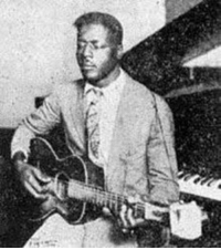 Black History Month, Fire, and Life: <p>Black history month day 10: Gospel/Blues singer Blind Willie Johnson.</p>  <p>Johnson was born to sharecroppers in a small town near Waco, Texas on January 25, 1897. His mother died when he was only 4, and his father remarried. When he was five years old his father gave him a cigar box guitar as his first instrument. He was not born blind, but acquired the condition early in life. It is unclear exactly how, although some historians agree that he was blinded after being splashed in the face with a caustic liquid by his stepmother. Other theories are that he was wearing the wrong glasses or that he viewed a partial solar eclipse that was visible over Texas in 1905. At any rate, Johnson became a musician and street preacher, earning change on street corners for his performances. In 1927 he recorded several sessions at a pop up studio with talent scout Frank Buckley Walker, Who also discovered stars such as Hank Williams. Johnson was given $50 for each usable side, plus a bonus for relinquishing any royalties from the sales of the records.</p>  <p>He had four more recording sessions and a fairly successful career as a recording artist and street preacher until the great depression minimized his audience. In 1945, his home was destroyed by a fire but he continued to live in the ruins as he had nowhere else to go. Because of these living conditions he was exposed to the humidity and contracted malarial fever. The local hospitals would not admit him, either because of his visual impairment or because of his race. Over the course of the year his condition steadily worsened and he died on September 18, 1945. His death certificate reported syphilis and blindness as contributing factors.</p>  <p>Johnson&rsquo;s music was revived in the 1960s thanks in large part to his inclusion on Harry Smith&rsquo;s Anthology of American Folk Music in 1952 and the efforts of the blues guitarist Reverend Gary Davis, a highly regarded figure in New York&rsquo;s blossoming folk scene who taught Johnson&rsquo;s music to young musicians. This led to his music being re-interpreted by acts like Peter, Paul and Mary and Bob Dylan. </p>  <p>This is the only known picture of Blind Willie Johnson.</p>