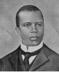 America, Black History Month, and Chicago: <p>Black history month day 11: Ragtime composer Scott Joplin.</p>  <p>Stock Joplin was born just three years after the end of the Civil War in 1868, to a former slave man and freeborn black woman. His father worked as a laborer for the railroad and his mother was a maid. When not working, his father liked to play the violin for plantation parties in North Carolina while his mother sang and played the banjo. Joplin was given a rudimentary musical education by his family and from the age of seven he was allowed to play the piano while his mother cleaned.</p>  <p>Joplin was ambitious about learning piano, often practicing after school. He was tutored for a while by German Jew who had emigrated to America. This teacher taught him folk, classical, and opera music, encouraging him to recognize music as an art form. Joplin never forgot the man's kindness and sent the ill and aging man a gift of money once he had become successful.</p>  <p>Jump and did some work as a real way labor but decided to abandon this in pursuit of a musical career. He soon realized that there were not a lot of opportunities for black musicians, churches and brothels being the primary places he could play piano. But he saw some minor success at the Chicago world's fair and went on to published several significantly popular ragtime pieces.</p>  <p>He composed an opera and move to New York to get it published, unfortunately art music was a field largely closed off the African-Americans. He did not get to see the opera have any success in his lifetime, although it was successfully staged in the 1970s.</p>
