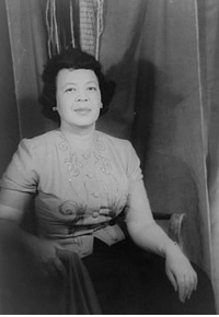 "Black History Month, Chicago, and Friends: <p>Black history month day 17: Composer Margaret Bonds</p>  <p>Margaret Bonds was born in Chicago in 1913 and grew up in a home visited by many of the leading black intellectuals of the era, including soprano Abbie Mitchell and composers Florence Price and Will Marion Cook. She composed her first work, Marquette Street Blues, at the age of five.</p>  <p>Her mother gave her piano lessons and she studied composition with Florence Price and William Dawson while in school. Upon graduating high school she became one of the few black students at Northwestern University, and graduated in two years with a bachelors and Masters degree in music. She played piano with various organizations including the Chicago Symphony orchestra before eventually moving to New York City.</p>  <p>In New York she met figures of the Harlem Renaissance, including poet Langston Hughes with whom she became very good friends. She set many of his poems to music. Once she sought the tutelage of famed French compositional teacher Nadia Boulanger, showing her the work she did setting Hughes' poem ""The Negro Speaks of Rivers"". Boulanger refused to teach Bonds after seeing this work, stating that she had nothing else to learn.</p>"