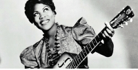 "Black History Month, Church, and Click: <p>Black history month day 19: musical pioneer Sister Rosetta Tharpe.</p>  <p>Rosetta was born on March 20, 1915 to a pair of musicians in Arkansas. Her parents were also active in the Church of God in Christ (COGIC). This denomination encouraged musical expression, rhythm and dancing, and female preaching. Rosetta's mother was a preacher and, at her encouragement, Rosetta began singing and playing the guitar as Little Rosetta Nubin at the age of four and was cited as a musical prodigy. By the age of six, Rosetta became a regular performer in her mother's traveling evangelical troupe.</p>  <p>Rosetta became well known for her music in an age where prominent black female guitar players were a rarity. At the age of 23 she begin her recording career and became one of the first gospel performers to have the mainstream success. She performed with prominent musicians like cab Calloway and was one of only two gospel singers who was able to send records to the troops overseas during World War II.</p>  <p>Rosetta Tharpe has been referred to as ""the godmother of rock 'n' roll"" and her style of music heavily influenced early rock-and-roll musicians, including Little Richard, Johnny Cash, Chuck Berry, Elvis Presley and Jerry Lee Lewis.</p>  <p>And because I just can't justify posting this without an actual example of how talented she was, click this link to hear one of her classic songs: <a href=""https://youtu.be/SR2gR6SZC2M"">https://youtu.be/SR2gR6SZC2M</a></p>"