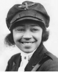 Barber, Black History Month, and Chicago: <p>Black history month day 23: American aviator Bessie Coleman.</p>  <p>Bessie Colman was born January 26, 1892 in Atlanta, Texas as tenth of thirteen children born to sharecroppers George and Susan Coleman. At the age of six, Coleman began walking four miles each day to a segregated one-room schoolhouse, where she loved to read and excelled in math. When she was 23, she moved with her brothers to Chicago and became a manicurist at a barber shop. It was there when she first heard stories of the pilots in World War I and decided she wanted to fly.</p>  <p>At the time, both black and female pilots in the United States were practically unheard of, so Coleman studied French so she could learn flying and get her license in Paris. On June 15, 1921, Coleman became the first woman of Black and Native American descent (as her father was part Choctaw or possibly Cherokee) to earn an aviation pilot&rsquo;s license and an international aviation license from the Fédération Aéronautique Internationale. </p>  <p>Coleman begin a successful career of stunt flying, saying: &ldquo;The air is the only place free from prejudices. I knew we had no aviators, neither men nor women, and I knew the Race needed to be represented along this most important line, so I thought it my duty to risk my life to learn aviation.&rdquo;</p>  <p>Coleman&rsquo;s dream was to start a school for young black aviators. Unfortunately, On April 30, 1926, she died after being thrown from a malfunctioning plane. But her numerous accomplishments served as inspiration for many future aviators.</p>