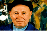 <p>Black history month day 23: painter Romare Bearden</p>  <p>A prominent American artist, Romare Bearden created dazzling work celebrating the black American experience, which he integrated into greater (predominantly white) American modernism. After working several decades as a painter, during the politically tumultuous 1960s Bearden found his own voice by creating collages made of cut and torn photographs found in popular magazines that he then reassembled into visually powerful statements on African-American life. The artist&rsquo;s subject matter encompassed the urban milieu of Harlem, traveling trains, migrants, spiritual &ldquo;conjure&rdquo; women, the rural South, jazz, and blues musicians, and African-American religion and spirituality. Late in his life, the artist established The Romare Bearden Foundation to aid in the education and training of talented art students. Bearden remains revered as a highly esteemed artist of the twentieth century. (bio courtesy of Theartstory.Org)</p>: <p>Black history month day 23: painter Romare Bearden</p>  <p>A prominent American artist, Romare Bearden created dazzling work celebrating the black American experience, which he integrated into greater (predominantly white) American modernism. After working several decades as a painter, during the politically tumultuous 1960s Bearden found his own voice by creating collages made of cut and torn photographs found in popular magazines that he then reassembled into visually powerful statements on African-American life. The artist&rsquo;s subject matter encompassed the urban milieu of Harlem, traveling trains, migrants, spiritual &ldquo;conjure&rdquo; women, the rural South, jazz, and blues musicians, and African-American religion and spirituality. Late in his life, the artist established The Romare Bearden Foundation to aid in the education and training of talented art students. Bearden remains revered as a highly esteemed artist of the twentieth century. (bio courtesy of Theartstory.Org)</p>