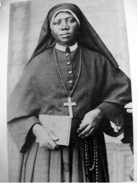 "Another One, Black History Month, and Children: <p>Black history month day 27: Catholic saint Josephine Bakhita.</p>  <p>Josephine Margaret Bakhita was born around the year 1869 in the western Sudanese region of Darfur. She belonged to the prestigious Daju people and lived a prosperous and comfortable life until sometime between the age of seven and nine when she was kidnapped by Arab slave traders.</p>  <p>Josephine was forced to walk barefoot about 600 miles to El Obeid and was already sold and bought twice before she arrived there. Over the course of twelve years she was resold again three more times and then given away. During this time she was forcibly converted to Islam. Due to the trauma of her childhood she forgot her given name and took another one, bakhita, Arabic for lucky. </p>  <p>Josephine spent much of her time under cruel masters who beat and abused her. Eventually she was taken by new masters to Italy where she became the nanny of their children and was treated well. While on a trip, her masters left her in the care of the Canossian Sisters of Venice. But when they returned to get Josephine, she firmly refused to leave. When her masters tried to force the issue, the superior of the Catechumenate that she attended complained to the Italian authorities. On 29 November 1889 an Italian court ruled that because the British had induced Sudan to outlaw slavery before Josephine's birth and because Italian law did not recognize slavery, she had never legally been a slave.</p>  <p>Finally Josephine was free and was baptized into the Catholic Church, receiving communion from the future Pope Pius X. Josephine lived out her days as a dedicated Sister in Italy. When asked what she would do if she were to ever meet her captors again, she replied: ""If I were to meet those who kidnapped me, and even those who tortured me, I would kneel and kiss their hands. For, if these things had not happened, I would not have been a Christian and a religious today""</p>"