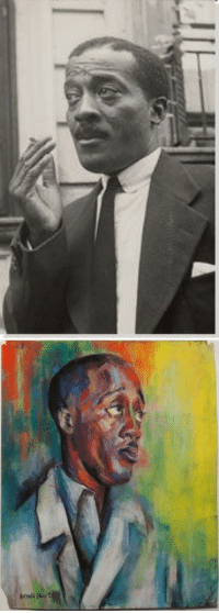 <p>Black history month day 4: Painter Norman W. Lewis.</p>  <p>Lewis was born in Harlem in 1909. Interested in art from a early age, he amassed a large art history library by the time he was a young man. Though he was a lifelong resident of Harlem, he traveled extensively during the two years that he worked on ocean freighters. </p>  <p>Lewis was know to paint social realism, depicting things that he saw affecting the black community such as bread lines, evictions, and police brutality. </p>  <p>Lewis was the only African- American artist among the first generation of Abstract Expressionists. Throughout his career he worked with other well known artists such as sculptor Augusta Savage and painter Jackson Pollock.</p>: <p>Black history month day 4: Painter Norman W. Lewis.</p>  <p>Lewis was born in Harlem in 1909. Interested in art from a early age, he amassed a large art history library by the time he was a young man. Though he was a lifelong resident of Harlem, he traveled extensively during the two years that he worked on ocean freighters. </p>  <p>Lewis was know to paint social realism, depicting things that he saw affecting the black community such as bread lines, evictions, and police brutality. </p>  <p>Lewis was the only African- American artist among the first generation of Abstract Expressionists. Throughout his career he worked with other well known artists such as sculptor Augusta Savage and painter Jackson Pollock.</p>