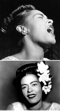 "<p>Black history month day 8: Singer-songwriter Billie Holiday</p>  <p>Billie Holiday was born Eleanora Fagan in Philadelphia on April 7, 1915. in Philadelphia. She was the daughter of an unmarried teenaged couple an her father did not live with her mother. Not long after Holiday was born, her father abandoned his family to pursue a career as a jazz musician and her mother moved to Philadelphia at age 19 after being kicked out of her parents&rsquo; home for becoming pregnant. Holiday spent most of her young childhood living with her aunt and her aunt's mother-in-law in Baltimore while her mother worked transportation jobs.</p>  <p>Holiday had a tumultuous childhood, having difficulty adjusting to her mother's frequent absences and being regularly truant from school, she was brought before juvenile court and sent to a Catholic reform school when she was nine. By age 11 she had dropped out of school entirely. Shortly after that she working long hours at a restaurant, was nearly raped by her neighbor, and moved with her mother to Harlem where they both became prostitutes, all before Holiday was 14.</p>  <p>Later in her teen years, the girl born Eleanora began to sing at nightclubs under the stage name Billie Holiday, after actress Billie Dove and her father Clarence Holiday. She was quickly noticed for her unique improvisational style and earthy, and distinct vocals that made up for her lack of formal training and range. She shot to popularity in the 30s and 40s, releasing such haunting classics as ""Gloomy Sunday"" and ""Strange Fruit"" along with many other recordings treasured in the standard library of jazz classics. </p>  <p>Sadly, the hardness of her life did not end with her public success. Much of her money went into feeding her drug and alcohol addictions that eventually contributed to her death of liver and heart failure at only 44.</p>: <p>Black history month day 8: Singer-songwriter Billie Holiday</p>  <p>Billie Holiday was born Eleanora Fagan in Philadelphia on April 7, 1915. in Philadelphia. She was the daughter of an unmarried teenaged couple an her father did not live with her mother. Not long after Holiday was born, her father abandoned his family to pursue a career as a jazz musician and her mother moved to Philadelphia at age 19 after being kicked out of her parents&rsquo; home for becoming pregnant. Holiday spent most of her young childhood living with her aunt and her aunt's mother-in-law in Baltimore while her mother worked transportation jobs.</p>  <p>Holiday had a tumultuous childhood, having difficulty adjusting to her mother's frequent absences and being regularly truant from school, she was brought before juvenile court and sent to a Catholic reform school when she was nine. By age 11 she had dropped out of school entirely. Shortly after that she working long hours at a restaurant, was nearly raped by her neighbor, and moved with her mother to Harlem where they both became prostitutes, all before Holiday was 14.</p>  <p>Later in her teen years, the girl born Eleanora began to sing at nightclubs under the stage name Billie Holiday, after actress Billie Dove and her father Clarence Holiday. She was quickly noticed for her unique improvisational style and earthy, and distinct vocals that made up for her lack of formal training and range. She shot to popularity in the 30s and 40s, releasing such haunting classics as ""Gloomy Sunday"" and ""Strange Fruit"" along with many other recordings treasured in the standard library of jazz classics. </p>  <p>Sadly, the hardness of her life did not end with her public success. Much of her money went into feeding her drug and alcohol addictions that eventually contributed to her death of liver and heart failure at only 44.</p>"