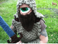 "<p>Crochet costumer Veronica Knight has topped herself with this crocheted cyclops outfit.<br/><a href=""http://boingboing.net/2012/01/11/crocheted-cyclops.html?utm_source=feedburner&amp;utm_medium=feed&amp;utm_campaign=Feed%3A+boingboing%2FiBag+%28Boing+Boing%29"" target=""_blank"">via</a></p>: <p>Crochet costumer Veronica Knight has topped herself with this crocheted cyclops outfit.<br/><a href=""http://boingboing.net/2012/01/11/crocheted-cyclops.html?utm_source=feedburner&amp;utm_medium=feed&amp;utm_campaign=Feed%3A+boingboing%2FiBag+%28Boing+Boing%29"" target=""_blank"">via</a></p>"