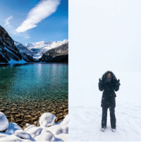 <p>Expectations VS Reality - Lake Louise, Alberta</p>: <p>Expectations VS Reality - Lake Louise, Alberta</p>