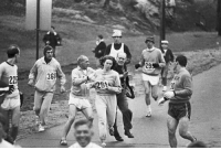 Boston, Marathon, and Boston Marathon: <p>First Woman To Enter Boston Marathon Enters Again 50 Years Later (5 pics)</p>