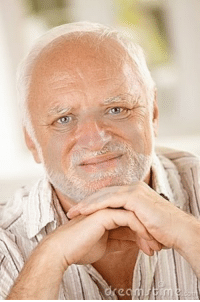 <p>Hide the Pain Harold: Old Guy, Stock Photo Model, Tortured Soul</p>: <p>Hide the Pain Harold: Old Guy, Stock Photo Model, Tortured Soul</p>