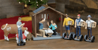 Hipster, Set, and  Nativity: <p>Hipster Nativity Set.</p>