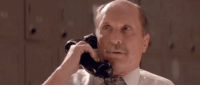 Phone, Robert Duvall, and Robert: <p>Hold the phone! Robert Duvall is stopping by tonight!</p>