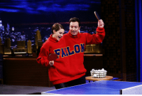 """Target, youtube.com, and Watch: <p>ICYMI: Shailene Woodley played <a href=""""https://www.youtube.com/watch?v=oVkyr_MB67M"""" target=""""_blank"""">some Double Turtleneck Ping Pong</a> with Jimmy against Artie Lange and Higgins!</p>"""