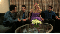 """Target, Http, and Jonas Brothers: <p>In case you missed it: The Jonas Brothers <a href=""""http://youtu.be/lW4MBfZawn0"""" target=""""_blank"""">met their #1 fan this week,</a> and she was pretty excited about it.</p>"""