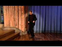 Dancing, Back, and Him: <p>In honor of Sam Rockwell coming back on the show tonight, we put together this compilation of him dancing on Late Night!</p>
