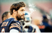<p>It&rsquo;s game day! Smokin&rsquo; Jay Cutler and the Chicago Bears look to bounce back against Cam Newton and the Carolina Panthers! Good luck Smokin&rsquo; Jay!</p> <p>Fan submission (courtesy of Neal E.)</p>: <p>It&rsquo;s game day! Smokin&rsquo; Jay Cutler and the Chicago Bears look to bounce back against Cam Newton and the Carolina Panthers! Good luck Smokin&rsquo; Jay!</p> <p>Fan submission (courtesy of Neal E.)</p>