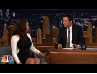 <p>Jimmy explains Bullet Proof Coffee to Maya Rudolph.</p>: <p>Jimmy explains Bullet Proof Coffee to Maya Rudolph.</p>