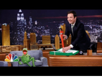 """Target, youtube.com, and Watch: <p>Kermit the <a href=""""https://www.youtube.com/watch?v=QogWsTivKgg"""" target=""""_blank"""">Frog brought Jimmy </a>the greatest gift ever, nbd.</p>"""