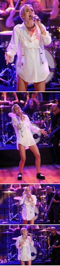 """Miley Cyrus, Target, and Http: <p>Miley Cyrus <a href=""""http://www.latenightwithjimmyfallon.com/blogs/2013/10/miley-cyrus-performs-wrecking-ball/"""" target=""""_blank"""">performed &ldquo;Wrecking Ball&rdquo;</a> on the show</p>"""
