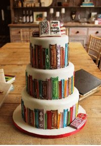 <p>Perfect Cake For Book Lovers</p>: <p>Perfect Cake For Book Lovers</p>