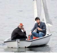 Emo, Sad, and Hugh Laurie: <p>Sad Keanu is in Hugh Laurie&rsquo;s emo boat.</p> <p>Submitted by Shell</p>