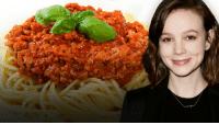 "Target, Http, and Spaghetti: <p>Still deciding what to eat for dinner? <a href=""http://www.nbc.com/the-tonight-show/blogs/118146"" target=""_blank"">Check out Carey Mulligan's Spaghetti Bolognese Recipe she shared with us! </a></p><p><a href=""http://www.nbc.com/the-tonight-show/segments/116536"" target=""_blank"">She makes this Spaghetti Bolognese on Broadway every night in her play ""Skylight""! </a></p>"