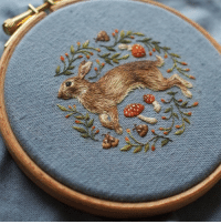 <p>Super intricate embroidery by Chloe Giordano.</p>: <p>Super intricate embroidery by Chloe Giordano.</p>