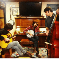 """Instagram, Taken, and Target: <p>The Avett Brothers backstage warming up for sound check! (Taken with <a href=""""http://instagr.am"""" target=""""_blank"""">instagram</a>)</p>"""