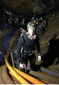 "Friends, Life, and Love: <p>The last photograph taken of Sgt. Saman Kunan, the Thai Navy seal who died in rescue efforts to save the boys trapped in the cave. May your sacrifice not be in vain, Sargent. Memory Eternal ☦️</p>  <p>""Greater love hath no man than this: that he lay down his life for his friends.""</p>"
