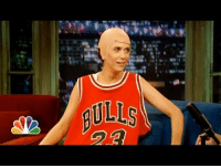<p>The weirdest thing happened last night: right before Kristen Wiig was supposed to stop by, Jimmy ran into Michael Jordan backstage and asked if he&rsquo;d do a quick interview.</p>: <p>The weirdest thing happened last night: right before Kristen Wiig was supposed to stop by, Jimmy ran into Michael Jordan backstage and asked if he&rsquo;d do a quick interview.</p>