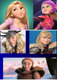 Beautiful, Disney, and Computer: <p>There&rsquo;s no question that Disney does a lot of things better than DreamWorks, but one thing DreamWorks does far better than Disney is female character design. Seriously, Disney, don&rsquo;t pretend that it is impossible to give your female characters distinct looks. Stop giving us the exact same face on every single female computer animated character. Your animation is so distinctly beautiful in so many areas, why do you insist on phoning this one in?</p>