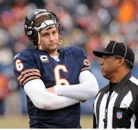 <p>These replacement refs have Smokin&rsquo; Jay Cutler down in the dumps.</p>: <p>These replacement refs have Smokin&rsquo; Jay Cutler down in the dumps.</p>