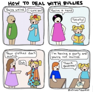 «How to Deal with Bullies»: «How to Deal with Bullies»