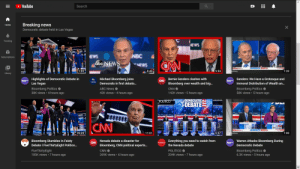 """³⁄₈ths of """"Breaking News"""" section of YouTube Home tab is Bloomberg owned: ³⁄₈ths of """"Breaking News"""" section of YouTube Home tab is Bloomberg owned"""