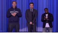 Dank, Kevin Hart, and 🤖: é画乡  SEAHAWKS  sAKAWKS Kevin Hart totally pulled a Malcolm Butler in yesterday's biggest lip sync battle of the year. http://goo.gl/5aGHrj