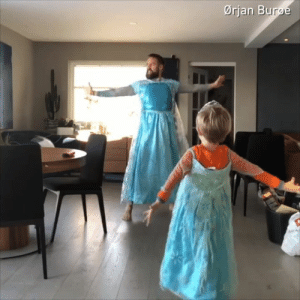 Dank, Home, and Let It Go: Ørjan Burge Let it go ❄️ let it go ❄️mom's not home for a while   By Ørjan Burøe