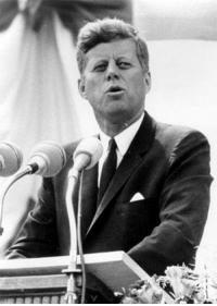 "Assassination, Memes, and New York: ˇ I would have voted for this man!  On NOVEMBER 22, 1963, in Dallas, Texas, shots rang out as President John F. Kennedy was assassinated.  The youngest President ever elected, being 43 years old, he was also the youngest to die, barely serving 1,000 days.  Kennedy was on his way to the Dallas Trade Mart to deliver a speech, in which he prepared to say:  ""We in this country, in this generation, are - by destiny rather than choice - the watchmen on the walls of world freedom.  We ask, therefore, that we may be worthy of our power and responsibility, that we may exercise our strength with wisdom and restraint,   and that we may achieve in our time and for all time the ancient vision of peace on earth, goodwill toward men ...""  Kennedy's remarks continued:  ""That must always be our goal - and the righteousness of our cause must always underlie our strength.  For as was written long ago, 'Except the Lord keep the city, the watchman waketh but in vain.'""  On April 27, 1961, John F. Kennedy addressed the American Newspaper Publishers Association at the Waldorf-Astoria Hotel, New York, with a talk titled ""The President and the Press"":  ""The very word 'secrecy' is repugnant in a free and open society; and we are as a people inherently and historically opposed to secret societies, to secret oaths and to secret proceedings ...  We are opposed around the world by a ... ruthless conspiracy that relies primarily on covert means for expanding its sphere of influence-on infiltration instead of invasion, on subversion instead of elections, on intimidation instead of free choice, on guerrillas by night instead of armies by day.   It is a system which has conscripted vast human and material resources into the building of a tightly knit, highly efficient machine that combines military, diplomatic, intelligence, economic, scientific and political operations.   Its preparations are concealed, not published. Its mistakes are buried, not headlined. Its dissenters are silenced, not praised. No expenditure is questioned, no rumor is printed, no secret is revealed.""  #JFK"