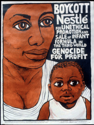 Bad, Reddit, and World: ΒΟΥΟΤ  Nestle  FORUNETHICAL  PROMOTIONAND  SALE OF INFANT  FORMULA IN  THE THIRD WORLD  GENOCIDE  FOR PROFIT Nestle Bad.