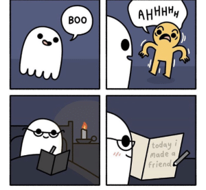 This is so sweet. Credits: TheOdd1sout: АНННН,  Во  today i  Made a  friend This is so sweet. Credits: TheOdd1sout